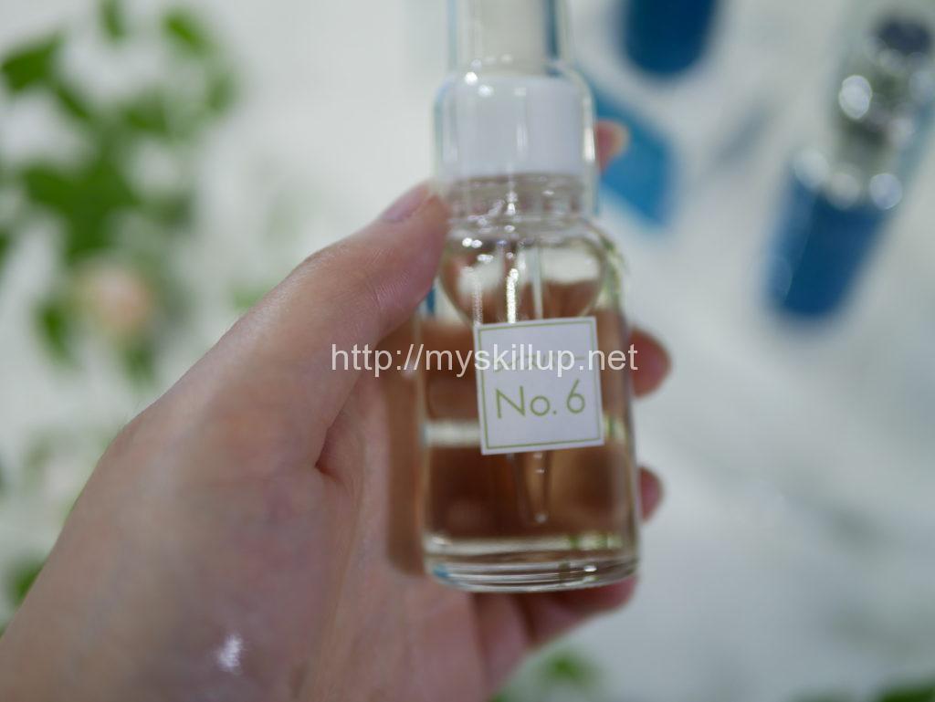 ライスパワーNo.6の原液が入った瓶