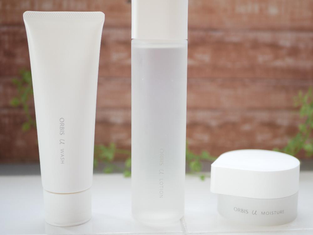 リニューアルしたオルビスユーの洗顔料と化粧水と保湿液
